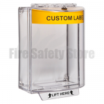Yellow STI-13110CY Surface Mount Universal Fire Alarm Stopper