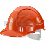 Economy Vented Safety Helmet
