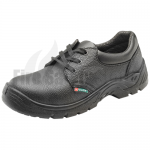 Black Steel Toe Cap Safety Shoe