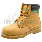 Honey Goodyear Welted Safety Boot