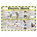 Electric Shock First Aid A2 Poster