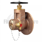 Flanged 65mm NP16 Horizontal Dry Riser Gate Valve