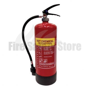 FireGuard 6Ltr Wet Chemical Extinguisher