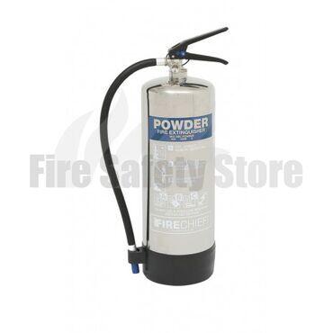 FireGuard Polished 6 Kg ABC Dry Powder Fire Extinguisher