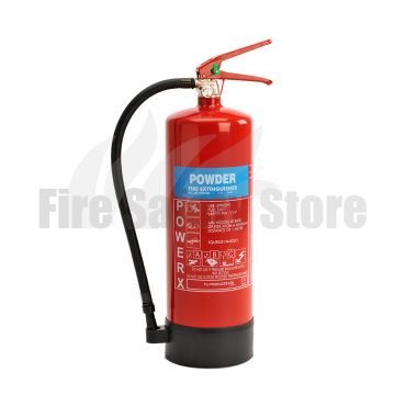 PowerX 9Kg ABC Dry Powder Fire Extinguisher