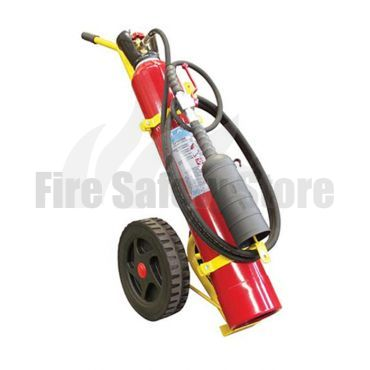 Titan 10Kg Co2 Wheeled Fire Extinguisher (M.E.D)