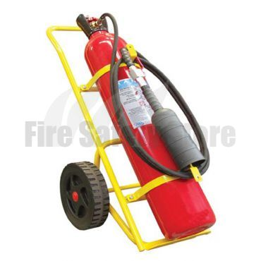 Titan 30Kg Co2 Wheeled Fire Extinguisher (M.E.D)