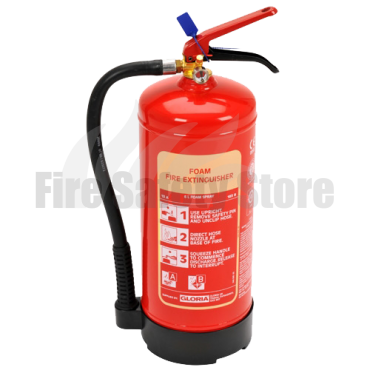 Gloria 6 Litre S6DLWB Foam Fire Extinguisher