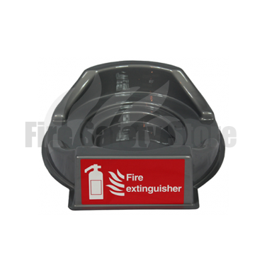Single Grey Fire Extinguisher Point