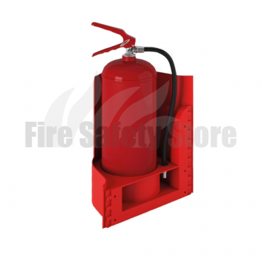 Single Red WAVE Wall Extinguisher Stand