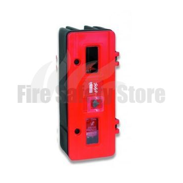 Lockable Single Fire Extinguisher Cabinet