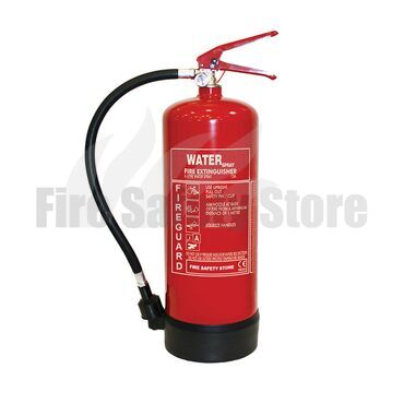 FireGuard 6Ltr Water Fire Extinguisher (Freeze Protected)