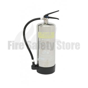 Firechief Elite Polished 6 Litre AFFF Foam Fire Extinguisher