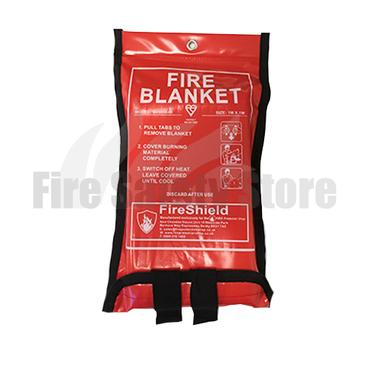 Soft Case 1.0m x 1.0m Fire Blanket