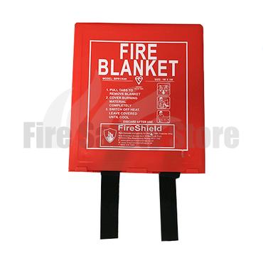 1.0m x 1.0m Hard Case Fire Blanket