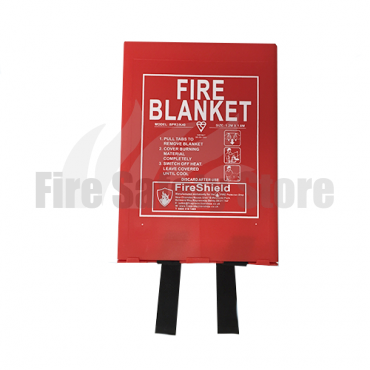 1.2m x 1.8m Hard Case Fire Blanket