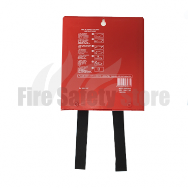 1.2m x 1.2m Hard Case Fire Blanket