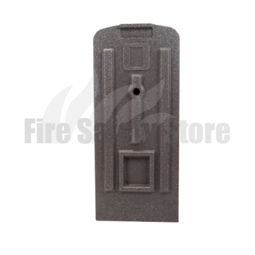 Single Grey Fire Extinguisher Stand