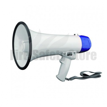 10 Watt Lightweight Compact Megaphone with Microphone