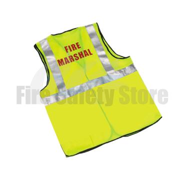 High Visibility Fire Marshal Waistcoat