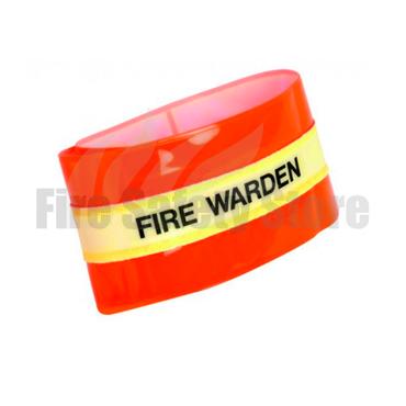 Photoluminescent Fire Warden Armband