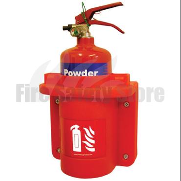 2Kg/2Ltr Fire Extinguisher Cabinet
