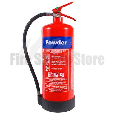 FireGuard 9Kg ABC Dry Powder Fire Extinguisher