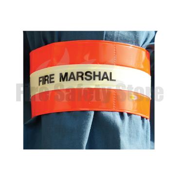 Photoluminescent Fire Marshal Armband