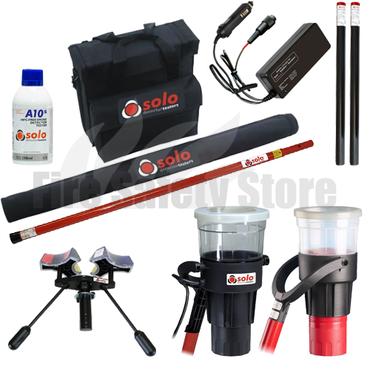 SOLO 822-001 Smoke & Cordless Heat Detector Testing Pack (6 Metres)