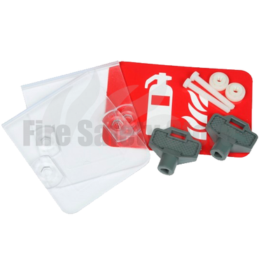 Replacement Fire Equipment Cabinet Keys & Spare Glass