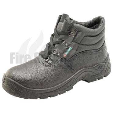 Black Steel Toe Cap Chukka Boot