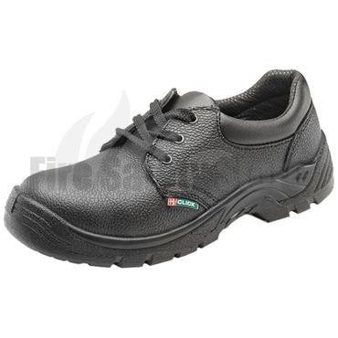 Black Steel Toe Cap & Midsole Safety Shoe