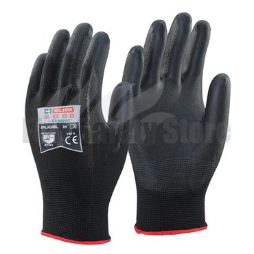 PU-Coated Glove Black